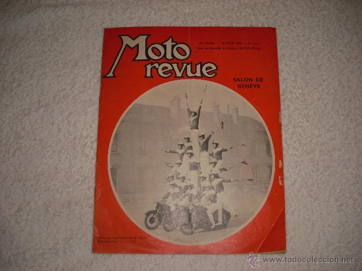 MOTO REVUE 1960. SALON DE GENEVE (Coches y Motocicletas - Revistas de Motos y Motocicletas)