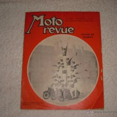 Coches y Motocicletas: MOTO REVUE 1960. SALON DE GENEVE. Lote 42341061
