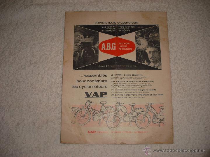 Coches y Motocicletas: MOTO REVUE 1960. SALON DE GENEVE - Foto 2 - 42341061