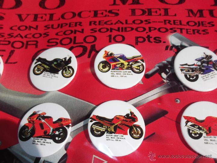 Coches y Motocicletas: Todo Moto,chapas,posters y sobres sorpresas años 80 nuevo,sin abrir de Kiosco!!!!! - Foto 3 - 42431226