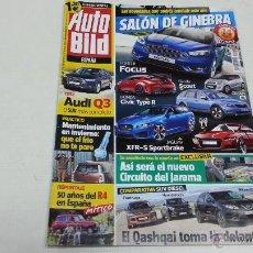 Coches y Motocicletas: AUTO BILD-Nº 427-AUDI Q3-FORD FOCUS-HONDA CIVIC TYPE R-AUDI TT-1980 19.. Lote 42651856