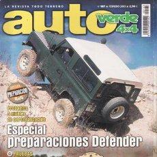 Coches y Motocicletas: REVISTA AUTO VERDE Nº 167 AÑO 2003. PRUEBA: KIA SORENTO 2.5 CRDI EX FULL. TOYOTA LAND CRUISER D4 D Y. Lote 42772770