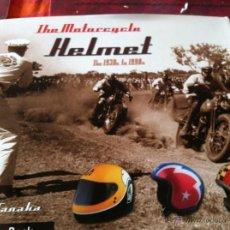 Coches y Motocicletas: MOTORCYCLE HELMET....HISTORIA DE LOS CASCOS DE MOTO DESDE 1930. Lote 42843173