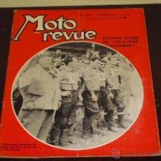 Coches y Motocicletas: MOTO REVUE Nº 1.556 AÑO 1961 - PRUEBA BSA GOLD-STAR CLUBMAN - MOTO-CROSS DES NATIONS 1961 -. Lote 42869326