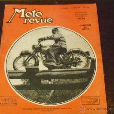 Coches y Motocicletas: MOTO REVUE Nº 1.137 AÑO 1953 - GILERA SATURNO 500 - EXCELSIOR 125 -. Lote 43043055