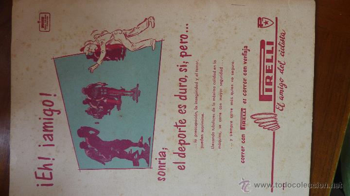 Coches y Motocicletas: Revista PISTA Y RUTA Ciclismo Motorismo y Automovilismo 1957 motociclismo cocacola Derby Mobilette - Foto 4 - 43409370