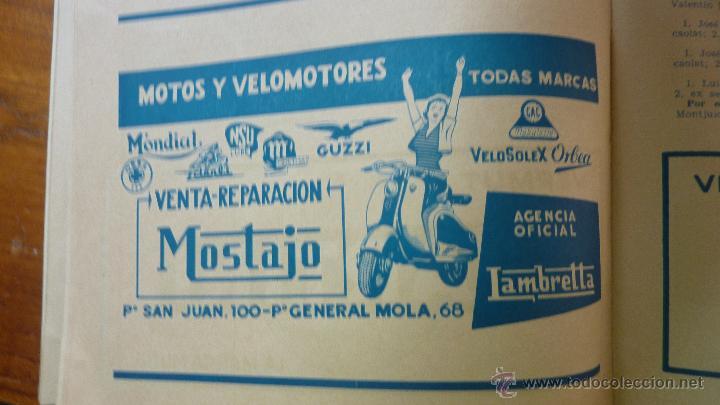 Coches y Motocicletas: Revista PISTA Y RUTA Ciclismo Motorismo y Automovilismo 1957 motociclismo cocacola Derby Mobilette - Foto 6 - 43409370