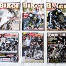 Coches y Motocicletas: 3 REVISTAS DE MONDO BIKER + 3 REVISTAS DE XTREME BIKES. Lote 43478116