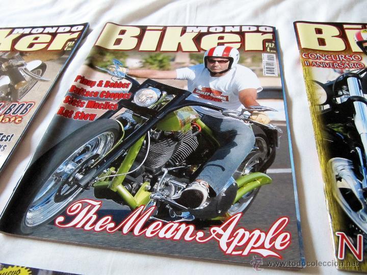 Coches y Motocicletas: 3 REVISTAS DE MONDO BIKER + 3 REVISTAS DE XTREME BIKES - Foto 2 - 43478116