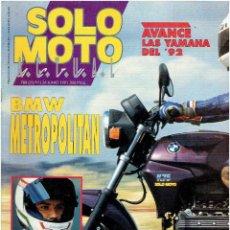 Coches y Motocicletas: REVISTA, SOLO MOTO, ACTUAL Nº 788 JUNIO DE 1991 . Lote 43641715