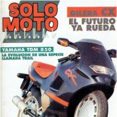Coches y Motocicletas: REVISTA, SOLO MOTO FEBRERO DE 1991 . Lote 43911788