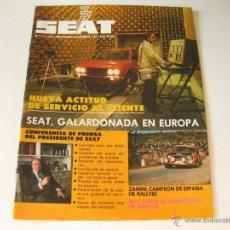 Coches y Motocicletas: REVISTA SEAT - NUMERO 127 / 128 DE NOVIEMBRE DICIEMBRE DE 1977. Lote 43955796
