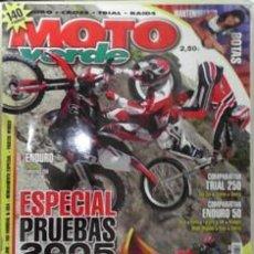 Coches y Motocicletas: MOTO VERDE Nº 214, EDICIÓN 9 2004. Lote 44039398