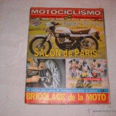 Coches y Motocicletas: MOTOCICLISMO EXTRA OCTUBRE 1979 . Lote 44265194