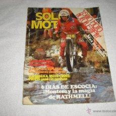 Coches y Motocicletas: SOLO MOTO 1979 Nº 190. Lote 44319628