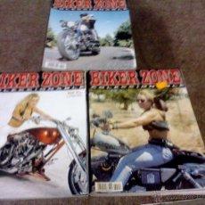 Coches y Motocicletas: LOTE DE 3 REVISTAS MOTOS BIKER ZONE COLECCIONABLE. Lote 44466081