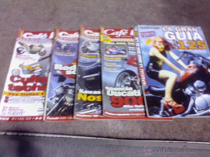 LOTE DE 5 REVISTAS DE MOTOS CAFE RACER (Coches y Motocicletas - Revistas de Motos y Motocicletas)