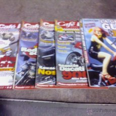 Coches y Motocicletas: LOTE DE 5 REVISTAS DE MOTOS CAFE RACER. Lote 44466284