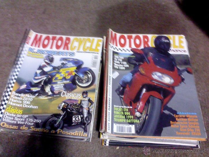 LOTE DE 27 REVISTAS MOTO MOTORCYCLE (Coches y Motocicletas - Revistas de Motos y Motocicletas)