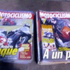 Coches y Motocicletas: LOTE DE 25 REVISTAS MOTO MOTOCICLISMO. Lote 44466644