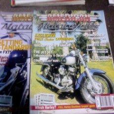 Coches y Motocicletas: LOTE DE 2 REVISTAS MOTO AMERICAN MOTORCYCLES. Lote 44467102