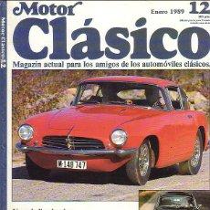 Coches y Motocicletas: MOTOR CLASICO 12. Lote 44646483