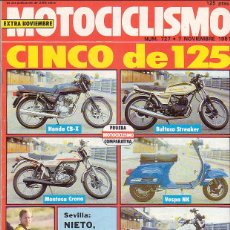 Voitures et Motocyclettes: MOTOCICLISMO 727. Lote 44656063