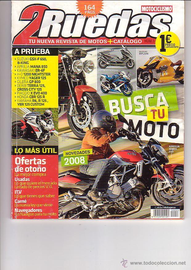 2 RUEDAS 3 (Coches y Motocicletas - Revistas de Motos y Motocicletas)