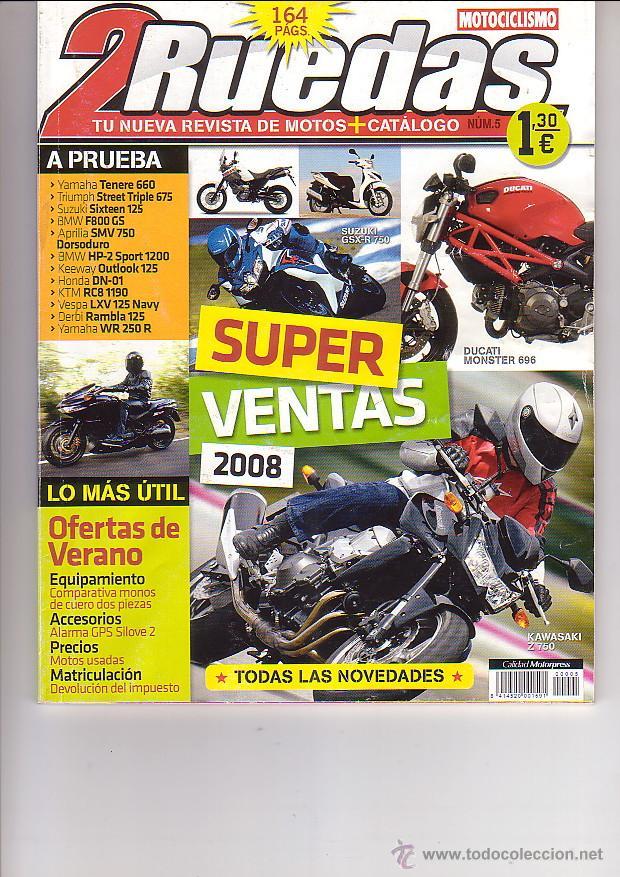 2 RUEDAS 5 (Coches y Motocicletas - Revistas de Motos y Motocicletas)