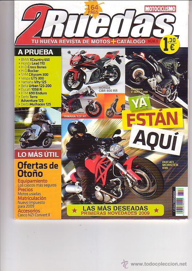 2 RUEDAS 6 (Coches y Motocicletas - Revistas de Motos y Motocicletas)