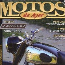 Coches y Motocicletas: MOTOS DE AYER 104. Lote 44679903