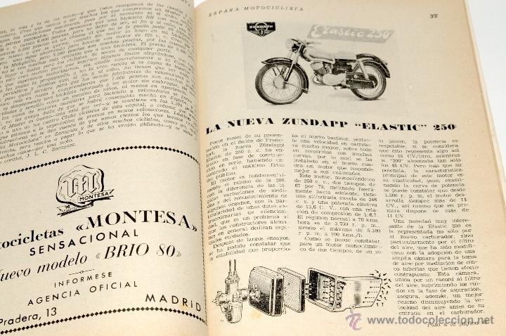 Coches y Motocicletas: REVISTA MOTOCICLISTA Nº 32 AÑO 1954 - Foto 3 - 44746932
