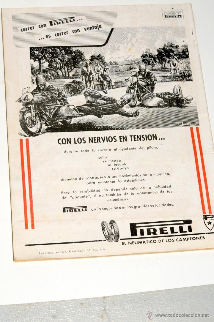 Coches y Motocicletas: REVISTA MOTOCICLISTA Nº 32 AÑO 1954 - Foto 4 - 44746932