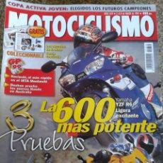 Coches y Motocicletas: REVISTA MOTOCICLISMO -- Nº 1619 -- MARZO 1999 -- . Lote 44853933
