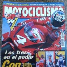 Coches y Motocicletas: REVISTA MOTOCICLISMO -- Nº 1626 -- ABRIL 1999 -- . Lote 44854057
