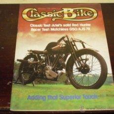 Coches y Motocicletas: CLASSIC BIKE Nº 8 - 1979 - MOTOCICLETAS BRITANICAS 250 C.C. MATCHLESS G50 -. Lote 45014602