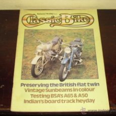 Coches y Motocicletas: CLASSIC BIKE Nº 7 - 1979 - BSA'S A65 & A50 PRUEBAS - VINTAGE SUMBEAMNS -. Lote 45014706