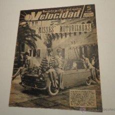 Carros e motociclos: VELOCIDAD NUMERO 75 DE FEB 1963 TRACTOR LANZ, MOTOBIC STELA. Lote 45087720