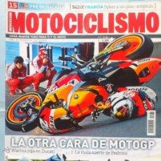 Coches y Motocicletas: REVISTA MOTOCICLISMO Nº 2380 YAMAHA XV950 CAIDA PEDROSA. Lote 45262372
