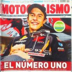 Coches y Motocicletas: MOTOCICLISMO Nº 2390 MARQUEZ CAMPEON MOTO GP + POSTER. Lote 45262774