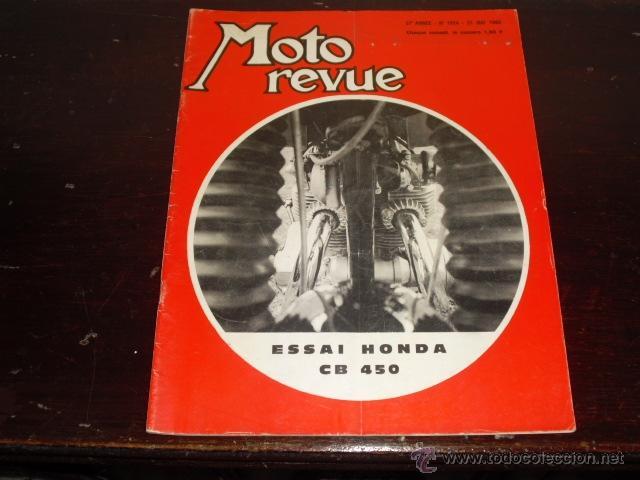 MOTO REVUE N º 1934 - AÑO 1969 - 500 MILLAS DE TRUXTON - PRUEBA HONDA 450 CB - (Coches y Motocicletas - Revistas de Motos y Motocicletas)