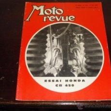 Coches y Motocicletas: MOTO REVUE N º 1934 - AÑO 1969 - 500 MILLAS DE TRUXTON - PRUEBA HONDA 450 CB -. Lote 45304411