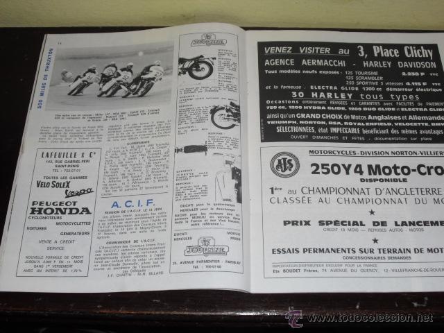 Coches y Motocicletas: MOTO REVUE N º 1934 - AÑO 1969 - 500 MILLAS DE TRUXTON - PRUEBA HONDA 450 CB - - Foto 4 - 45304411