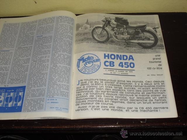 Coches y Motocicletas: MOTO REVUE N º 1934 - AÑO 1969 - 500 MILLAS DE TRUXTON - PRUEBA HONDA 450 CB - - Foto 7 - 45304411