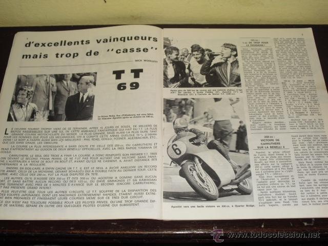 Coches y Motocicletas: MOTO REVUE N º 1937 AÑO 1969 - TOURIST TROPHY 1969 - PRUEBA NUEVA MZ 250 - - Foto 3 - 45304449