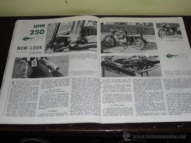 Coches y Motocicletas: MOTO REVUE N º 1937 AÑO 1969 - TOURIST TROPHY 1969 - PRUEBA NUEVA MZ 250 - - Foto 7 - 45304449