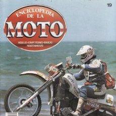 Coches y Motocicletas: ENCICLOPEDIA DE LA MOTO Nº 19. PRUEBA: LAVERDA SF 750. MANTENIMIENTO: PAR POTENCIA Y RENDIMIENTO. . Lote 45410930