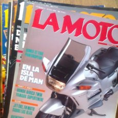 Coches y Motocicletas: REVISTA LA MOTO AÑOS 90 VER NUMEROS. Lote 127847815