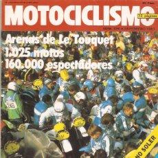 Coches y Motocicletas: REVISTA MOTOCICLISMO Nº 695 1981 KAWASAKI 1000 Z 1100 GP. Lote 45576001