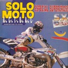 Coches y Motocicletas: REVISTA SOLO MOTO Nº 844 29-6-92 SEGALE HONDA NX 650. Lote 45591777